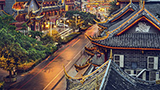 Chiny - Liczba hoteli Chengdu
