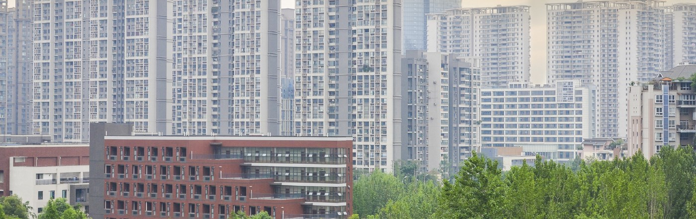 Chiny - Liczba hoteli Deyang