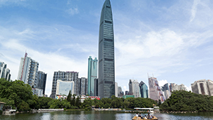 Chiny - Liczba hoteli Dongguan