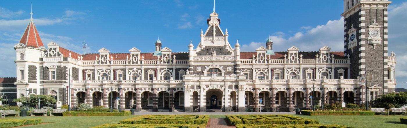 Nueva Zelandia - Hoteles Dunedin