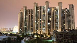 Indie - Liczba hoteli Gurgaon