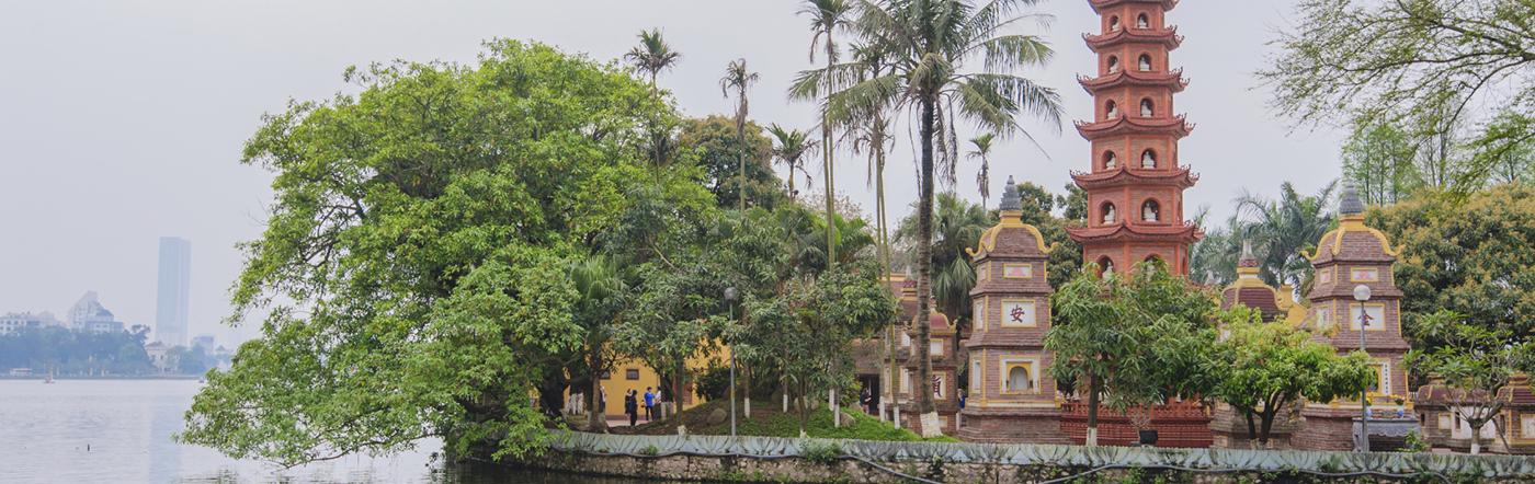 Vietnam - Hotell Hanoi