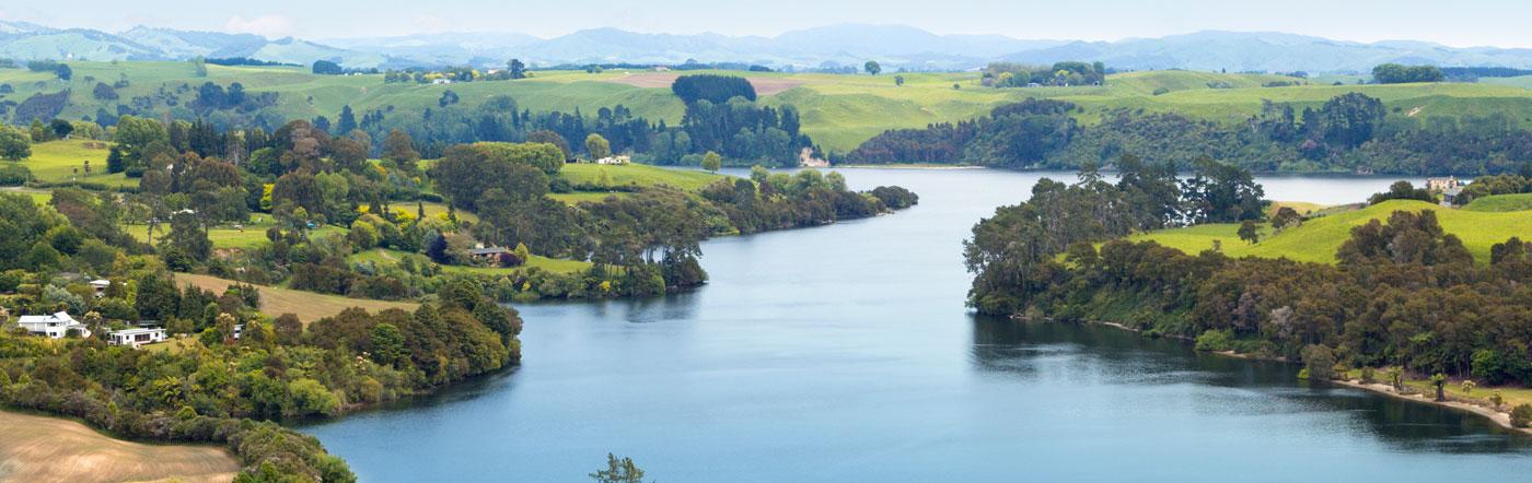 Nueva Zelandia - Hoteles Hamilton