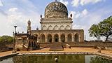 Indie - Liczba hoteli Hyderabad