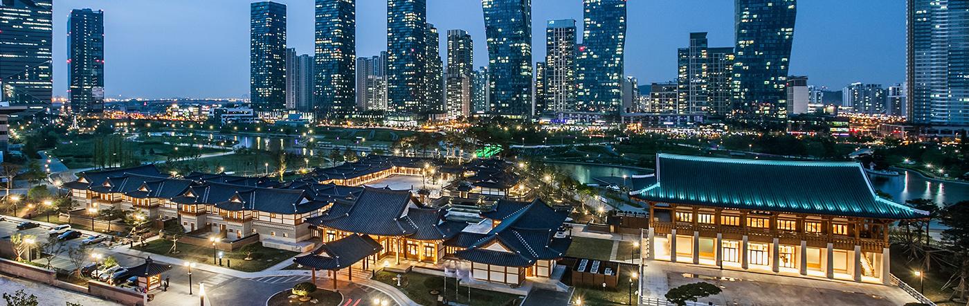 Korea Republika - Liczba hoteli Inch'on