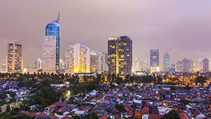 Indonesien - Hotell Jakarta
