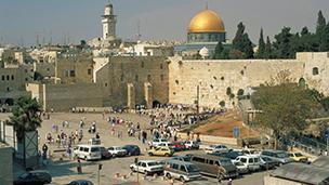 Izrael - Liczba hoteli Jerozolima