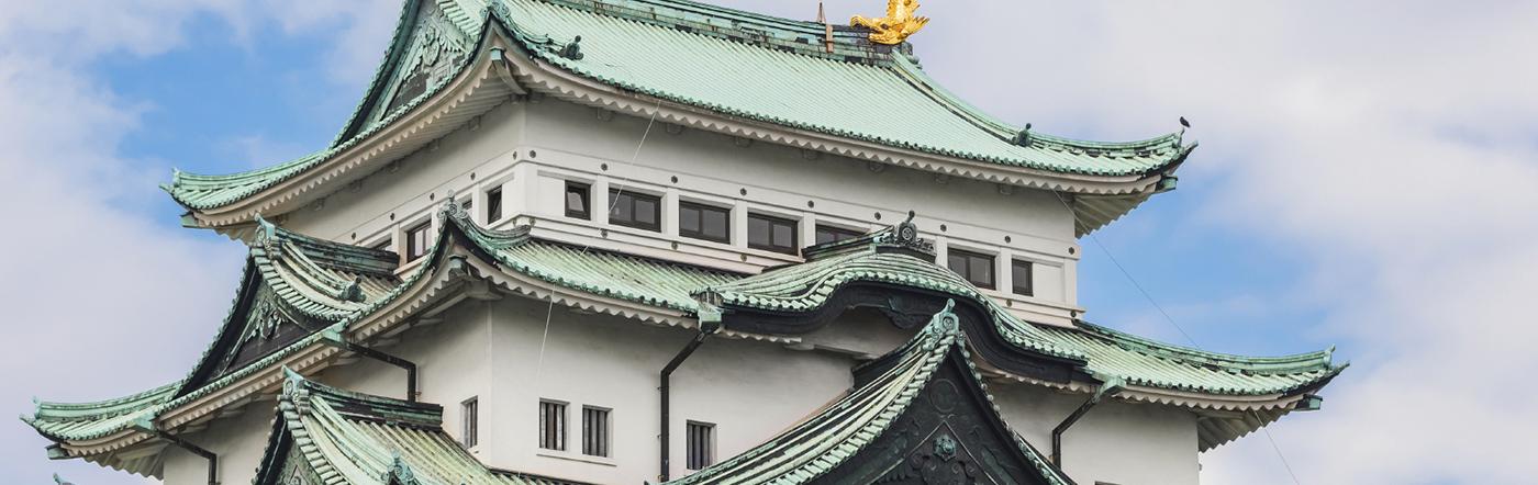 Japonia - Liczba hoteli Nagoya