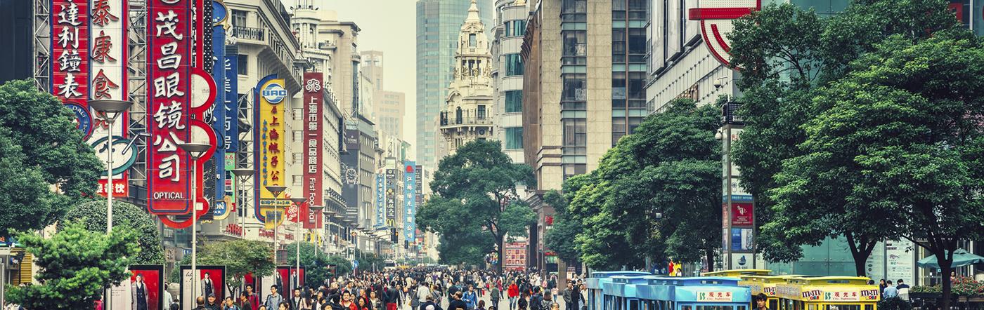 Chiny - Liczba hoteli Nanjing
