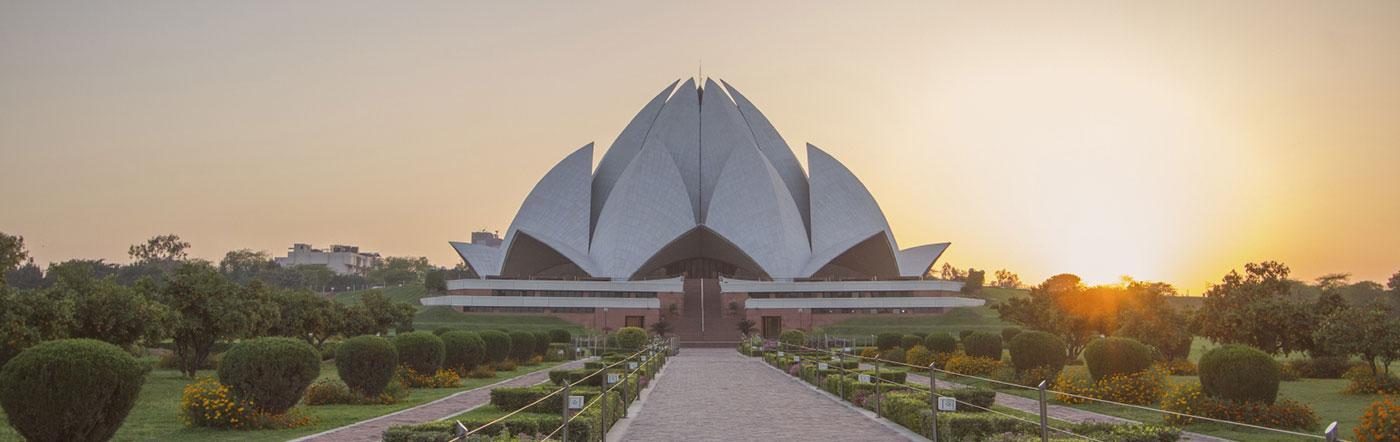 Indie - Liczba hoteli New Delhi