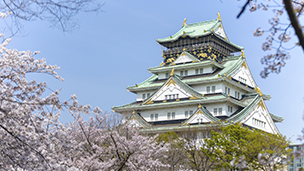 Japonia - Liczba hoteli Osaka