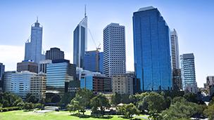 Australia - Liczba hoteli Perth