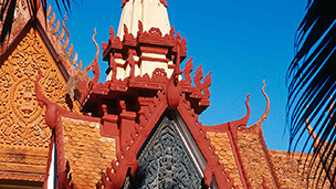 Kambodja - Hotell Phnom Penh