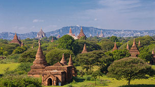 Mjanmar - Liczba hoteli Yangon