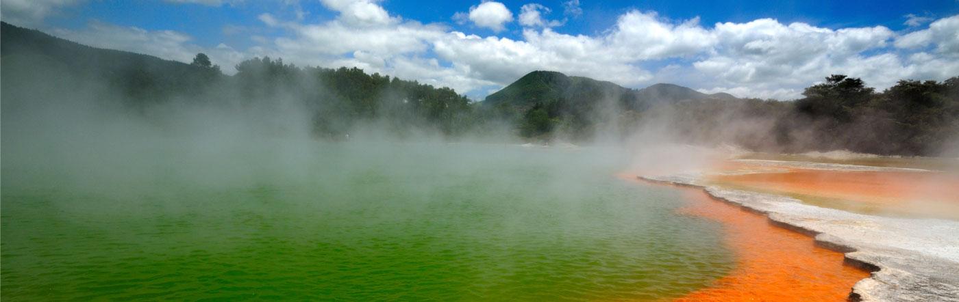 Nueva Zelandia - Hoteles Rotorua