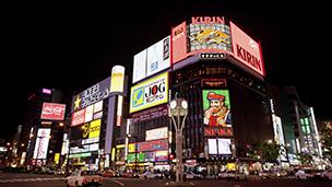 Japonia - Liczba hoteli Sapporo