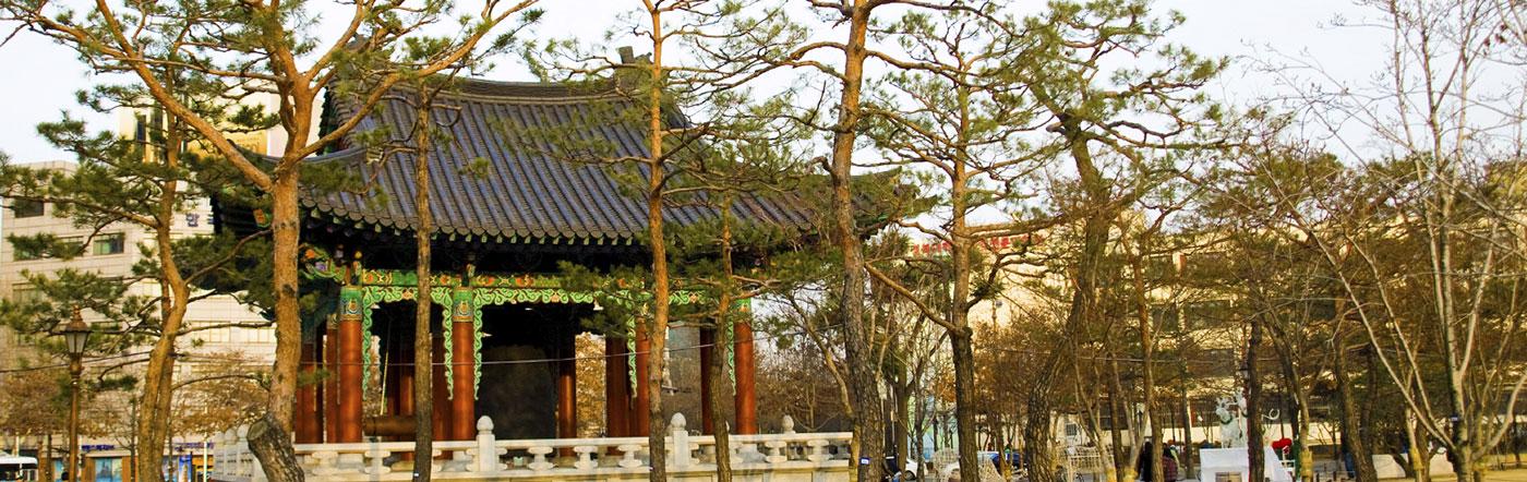 韓国 - テグ ホテル