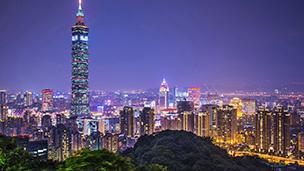 Tajwan - Liczba hoteli Tajpej