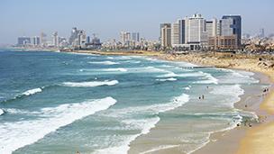 Izrael - Liczba hoteli Tel Awiw