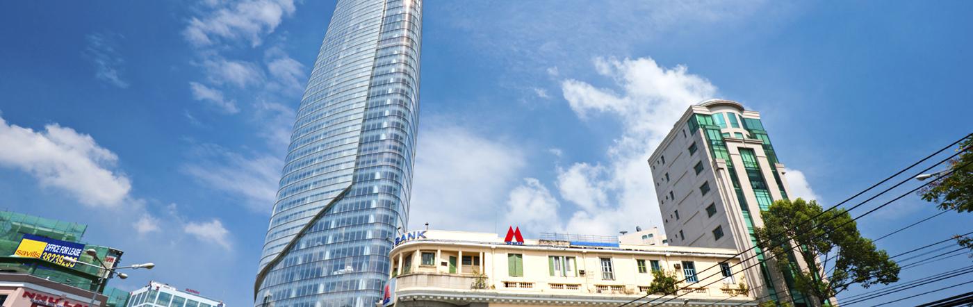 Wietnam - Liczba hoteli Ho Chi Minh