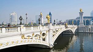 Chiny - Liczba hoteli Tianjin