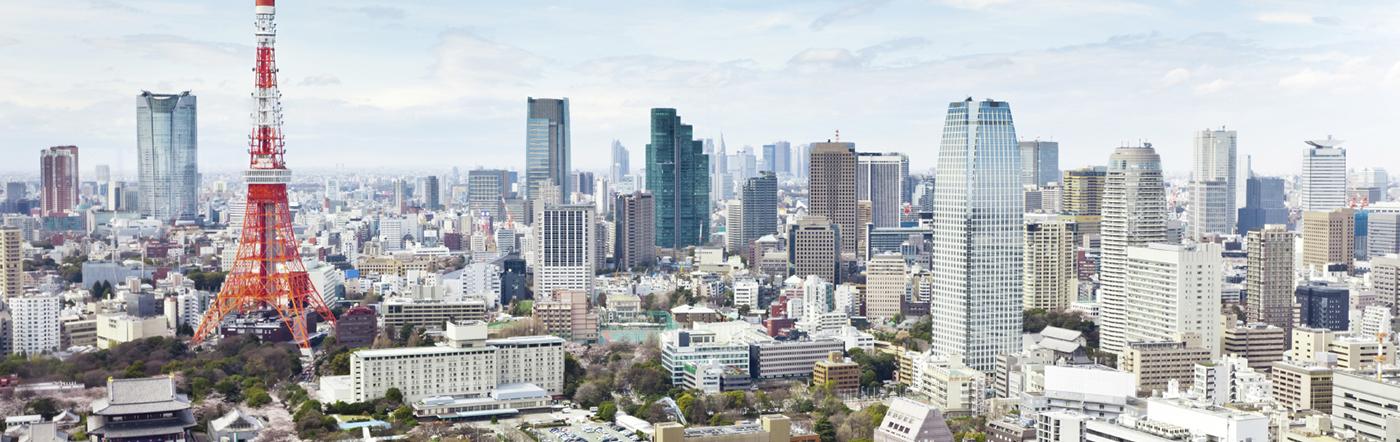 Japonia - Liczba hoteli Tokio