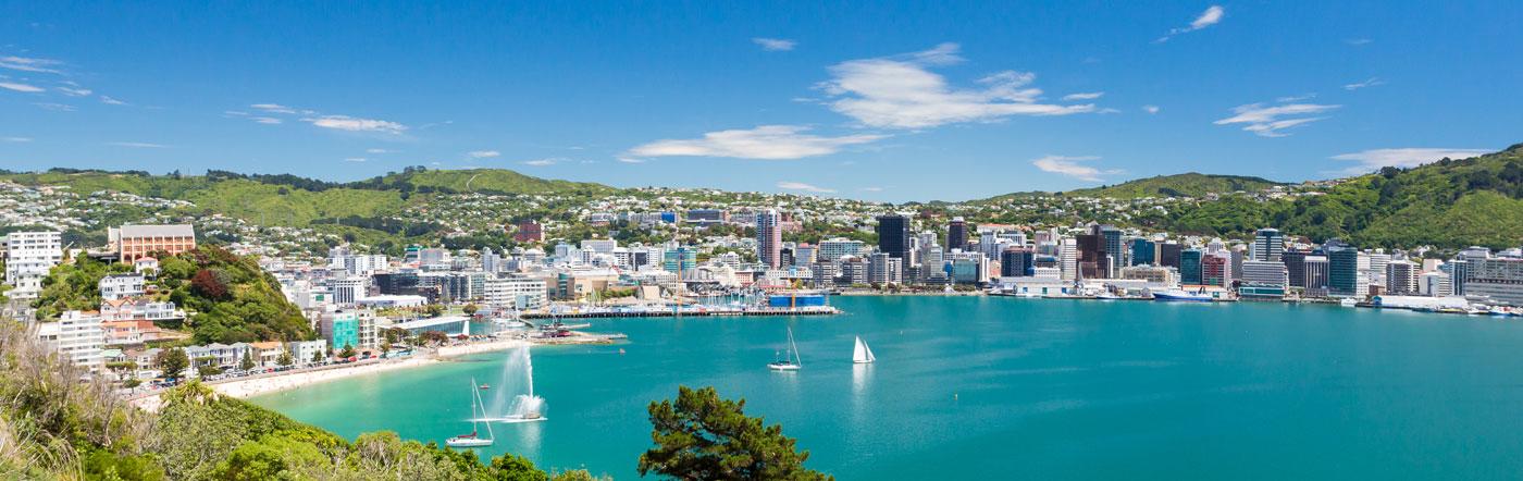 Новая Зеландия - отелей Веллингтон