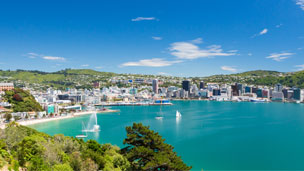 Nya Zeeland - Hotell Wellington