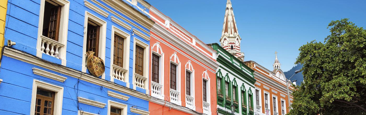 Colômbia - Hotéis Bogotá