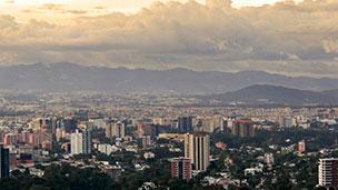 Gwatemala - Liczba hoteli Gwatemala (miasto)