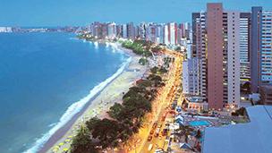 Brazylia - Liczba hoteli Fortaleza