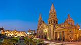 Meksyk - Liczba hoteli Guadalajara
