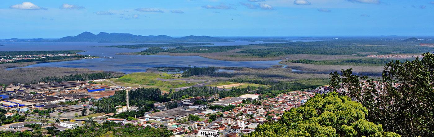 Brazylia - Liczba hoteli Joinville