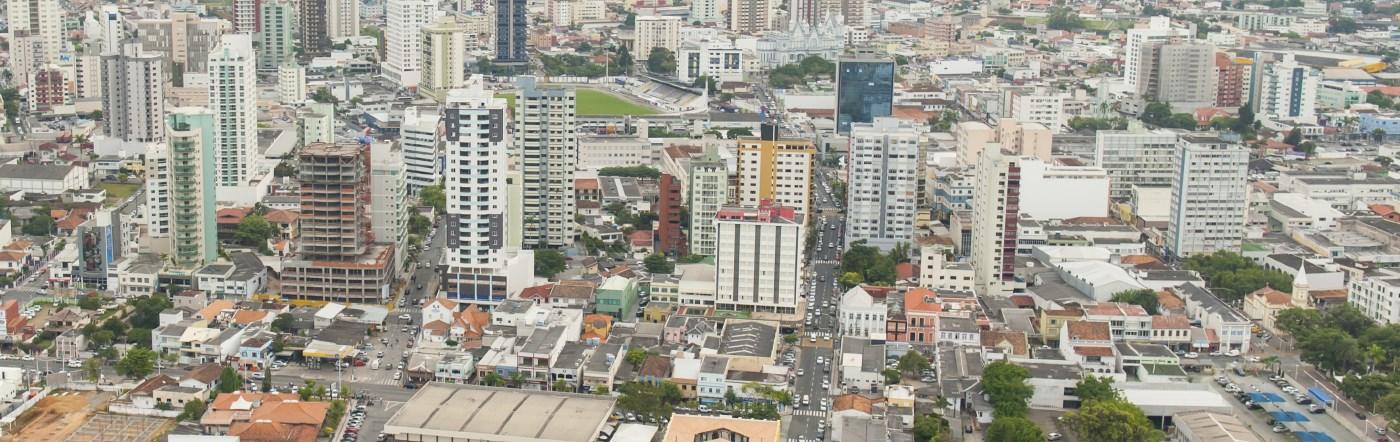 Brazylia - Liczba hoteli Lages