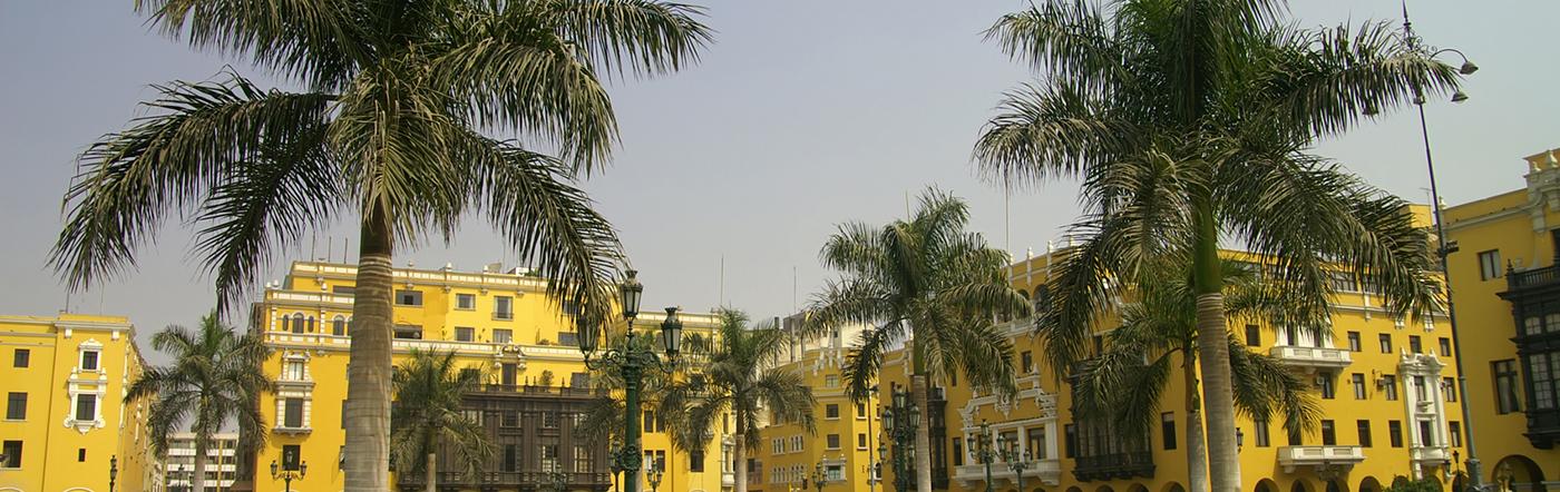 เปรู - โรงแรม ลิมา
