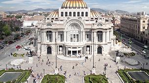 Meksyk - Liczba hoteli Mexico City