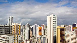 Brazylia - Liczba hoteli Recife