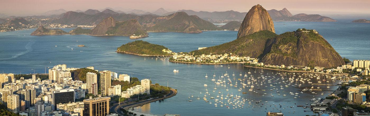 ブラジル - リオデジャネイロ ホテル