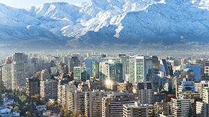 Chile - Liczba hoteli Santiago