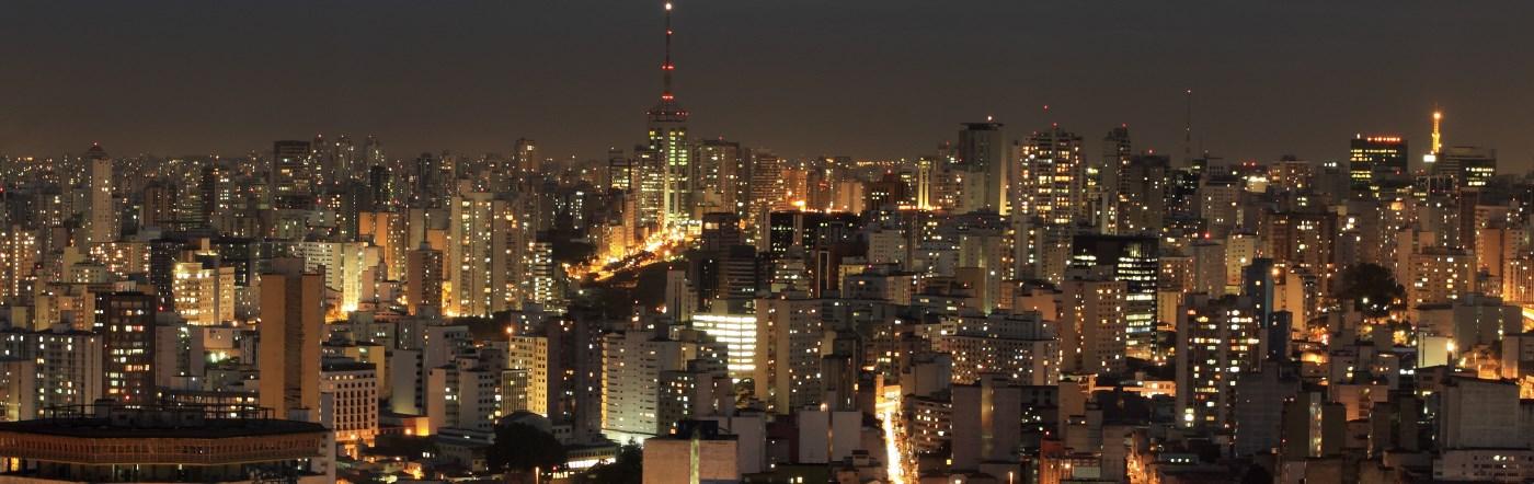 Brazylia - Liczba hoteli Sao Carlos