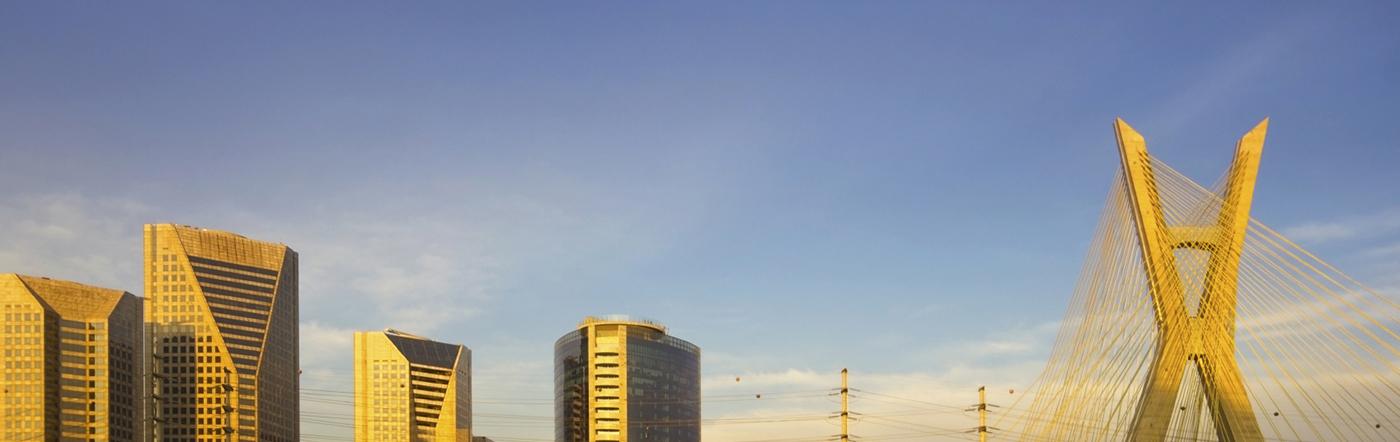 Brazylia - Liczba hoteli São Paulo