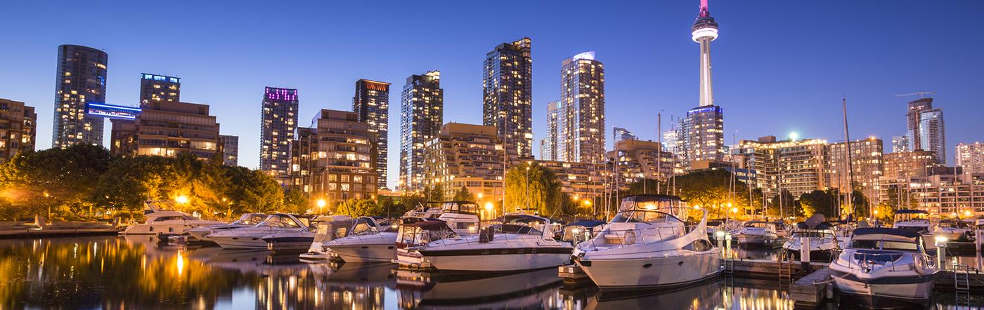 Kanada - Liczba hoteli Toronto