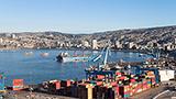 Chile - Liczba hoteli Valparaiso