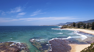 Australia - Liczba hoteli Wollongong