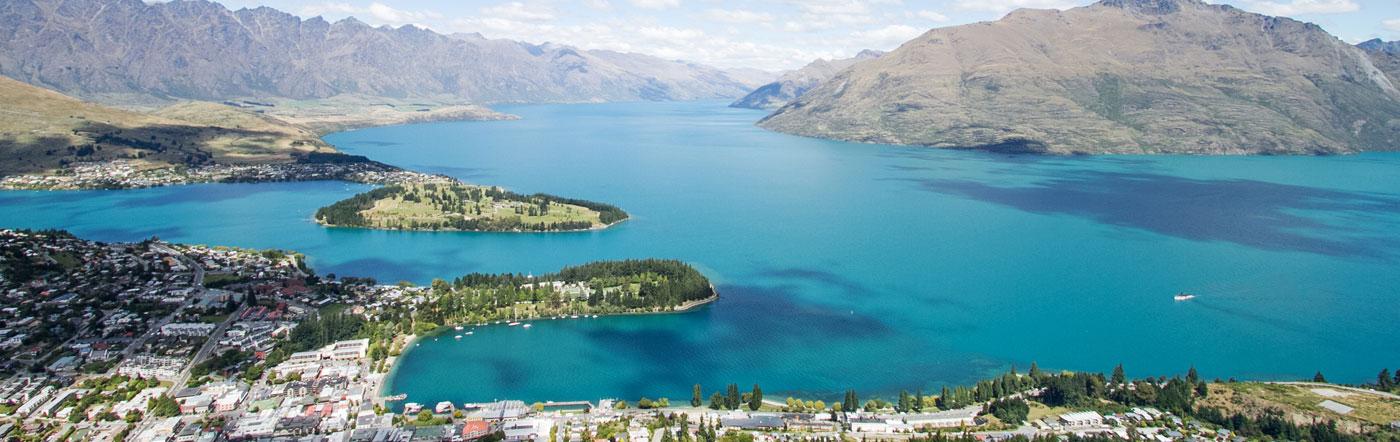Новая Зеландия - отелей Квинстаун