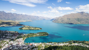 Nowa Zelandia - Liczba hoteli Queenstown