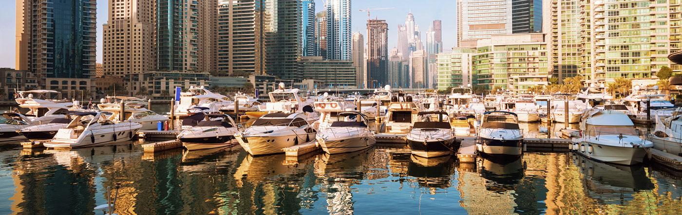 Zjednoczone Emiraty Arabskie - Liczba hoteli Dubaj