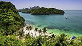 Tajlandia - Liczba hoteli Ko Samui