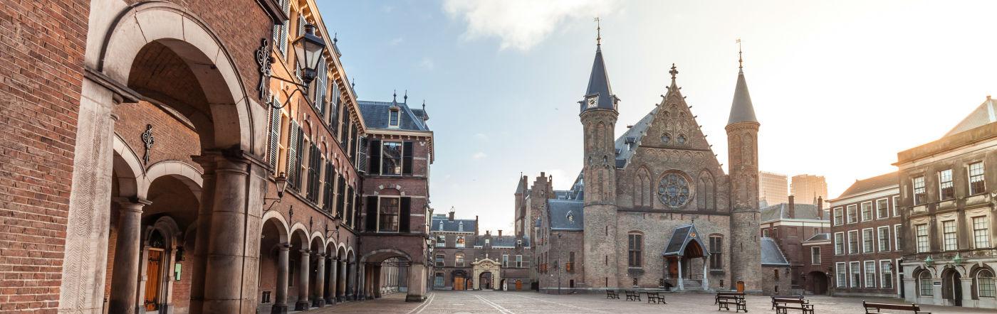 Holandia - Liczba hoteli Haga