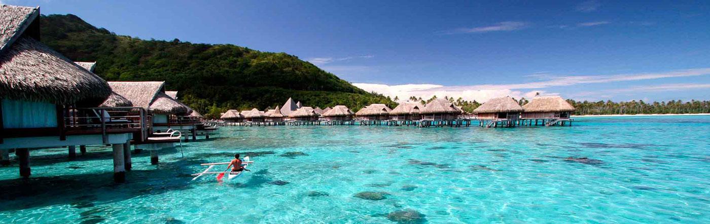 フランス領ポリネシア - モ-レア ホテル